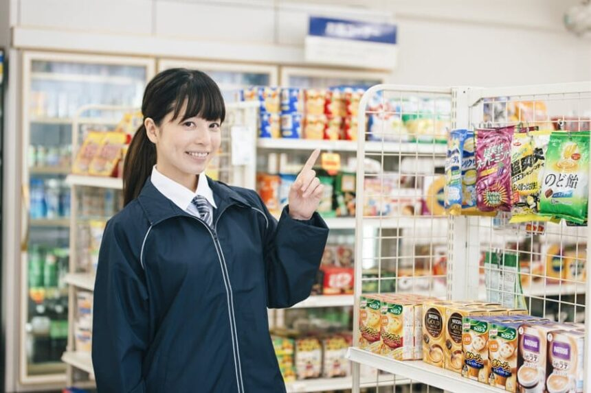 Part-Time Jobs in Tokyo (Convenience Store Staff) | FAIR Work in Japan