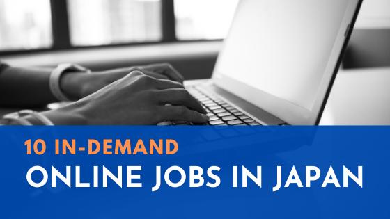 online jobs in japan