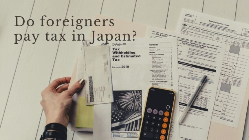 Taxes in Japan for Foreigners   FAIR Work in Japan