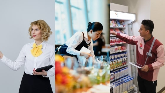 Know the popular part-time jobs near you | FAIR Work in Japan
